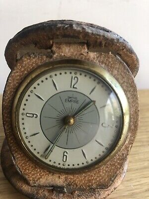 vintage travel collectable clocks