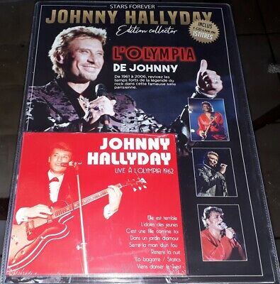 Neuf Scelle Johnny Hallyday Stars Forever Edition Collector Avec Cd Olympia 1962