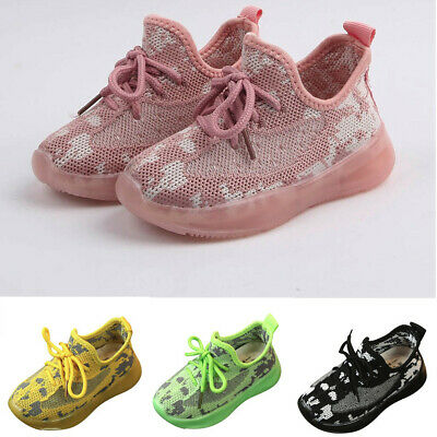 Children Infant Kids Baby Girls Boys Breathable Sport Sneakers Run Casual Shoes
