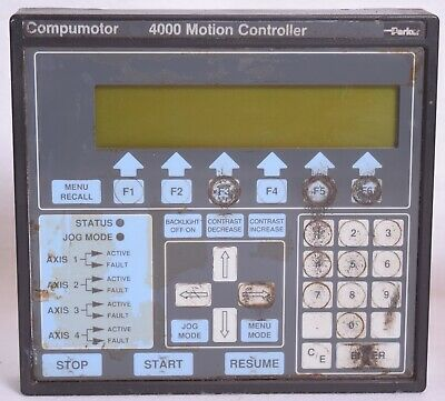 Parker CP4000 Compumotor Control Operators Panel For 4000 Motion Controller #2