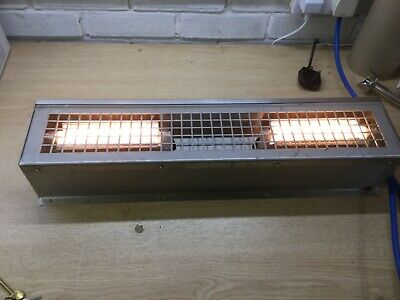 Electric  Servery TWIN Lamp switched Unit, USED FREEPOST