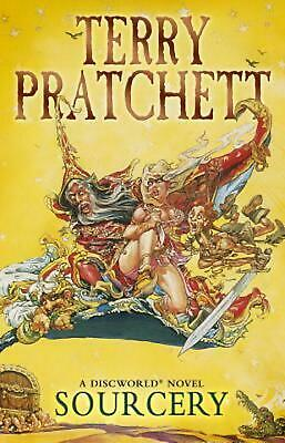 Sourcery: (Discworld Novel 5) by Terry Pratchett (English) Paperback Book Free S