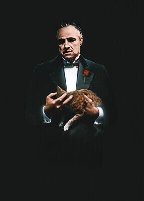 The Godfather (1972) Movie Poster Art Fabric HD Printed Wall Decor Multi Sizes