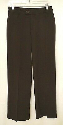 NYDJ Size 6P Dark Brown Dress Pants Trouser Style P1147 NOT YOUR DAUGHTERS JEANS