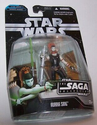 Star Wars The SAGA COLLECTION Aurra Sing Action Figure BRAND NEW!