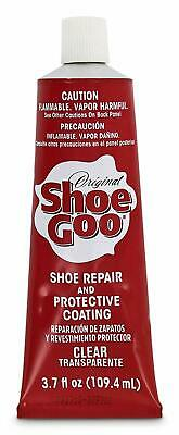 Shoes or Boots Repair Adhesive Shoe Goo for Fixing Worn, Clear, 3.7-Ounce Tube