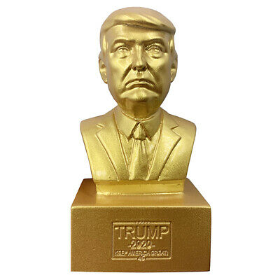 Donald J. Trump Collectible Statue Sculpture 2020 President Historical Bust New