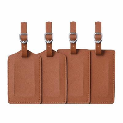 Luggage Tag,Leather Identifiers Travel Tags For Suitcase,Bag Tags with Name