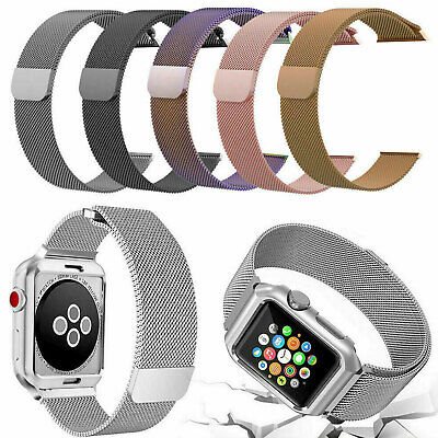 For Apple Watch Series 4/3/2/1 Milanese Loop Strap Watch Replacement Band