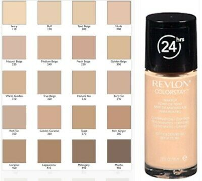 Revlon Colorstay Foundation SPF15 Combination Oil / Normal Dry / Matte Finish