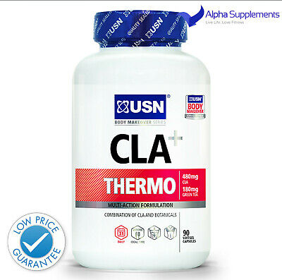 USN CLA Thermo Fat Burning Pills Fat Loss 90 Softgel Caps (90Serv.) LOW PRICE !