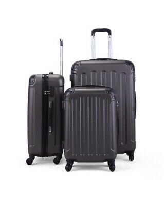 3 Piece Luggage Set Travel Suitcase, Nested Spinner With FREE cover