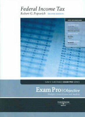Exam Pro on Federal Income Tax (Exam Pro Series) by Popovich, Robert
