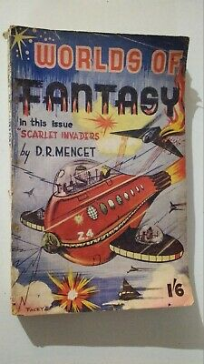 Worlds of fantasy. c1950  D R Mencet.