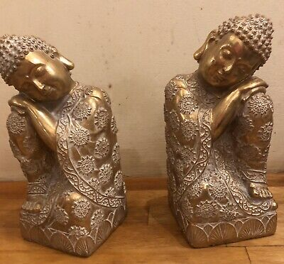 2 Latex mould for making These Lovely Buddha Book Ends