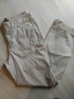 Women's khaki cotton Mercer fit Eddie Bauer chino pants size 4
