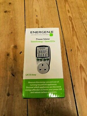 Energy Saving Power Meter for any UK Household Appliance UK Energenie