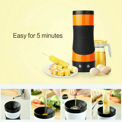 1*Electric Egg Machine Cooker Automatic Egg Roll Maker Egg Omelet Master Sausage