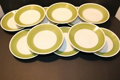 Lot Of 11 Vintage LORENZ HUTSCHENREUTHEN Saucers Made In Germany  2