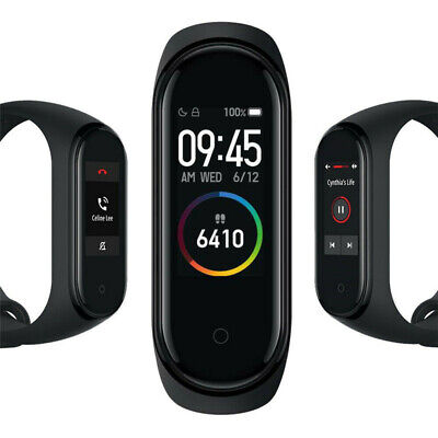 "Original Xiaomi Mi Band 4 Intelligent Armband 0,95"" Push Info Global Version DE"