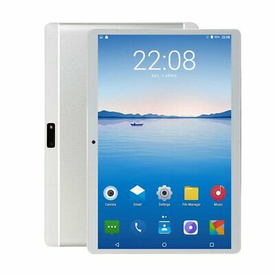 10.1'' 64GB Android 8.1 Tablet PC Octa Core 10 Inch HD WIFI 2 SIM 4G Phablet H