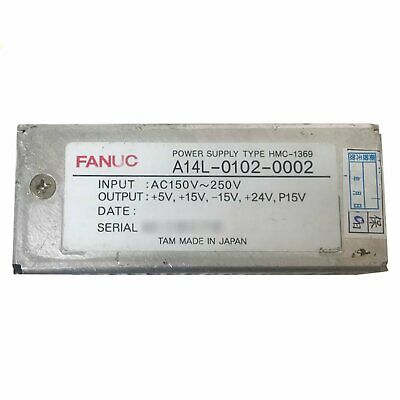 One Used For Fanuc A14l-0102-0002 Power Supply Tested in Good Condition