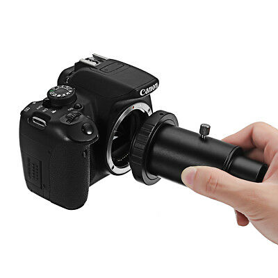 """1.25"""" Extension Tube And Telescope Mount Camera Adapter T-Ring For Canon EOS"""