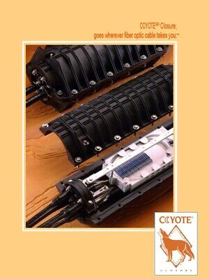 Preformed Line Products Coyote 8006561 Fiber Optic Closure