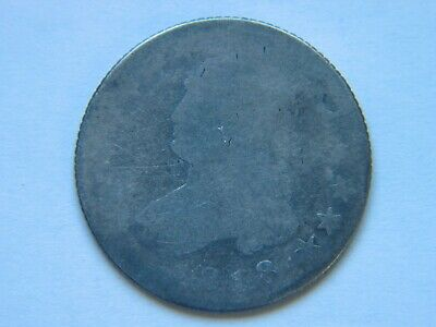 1818 25C Capped Bust Quarter Large Diameter Type Coin
