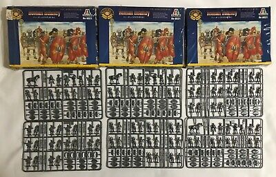 Italeri No.6021 Historics 1st-2nd Century B.C. ROMAN INFANTRY 1:72 Scale Set (3)