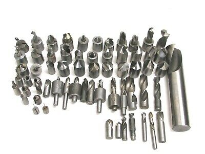 """Assorted Lot Of (63) Drill Bits, .0435"""" - 1-1/2"""""""