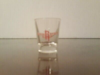Houston Rockets Team Shot Glass.excellent Condition Free Shipping