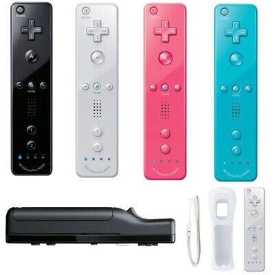 US Wiimote Built in Motion Plus Inside Remote Gesture Controller For Wii & Wii