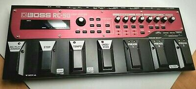 used Boss RC-50 Loop Station, excellent condition