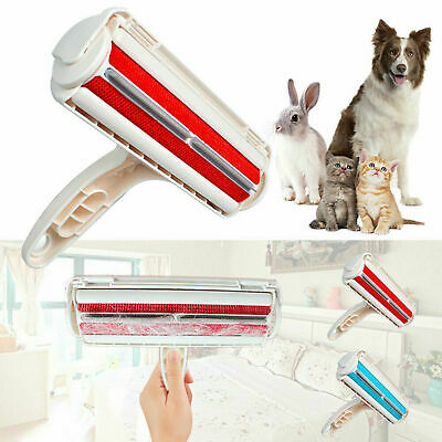 Pet Hair Remover Reusable Dog Cat Fur Roller Sofa Clothes Lint Cleaning Brushes