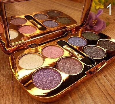 Eye Shadow Sparkling Pro 8 Colors Eyeshadow Brush Makeup Shimmer Palette