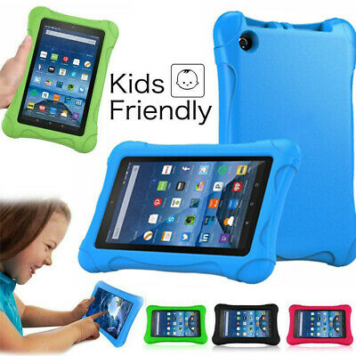 """For Amazon Kindle Fire 7"""" Alexa Tablet ShockProof EVA Foam Kids Stand Cover Case"""