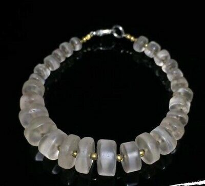 Ancient Roman Crystal Beads Tyre Shapes Bareslate