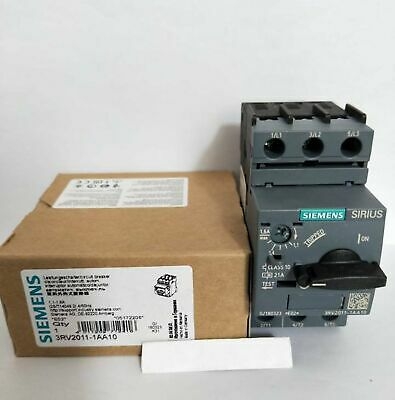 New In Box 3RV2 011-1AA10 Siemens Circuit Breaker Controller 3RV2011-1AA10