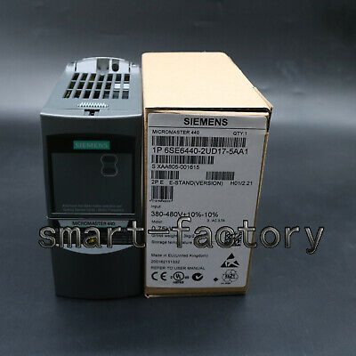 1PC New Siemens frequency converter 6SE6440-2UD17-5AA1 380V 0.75KW