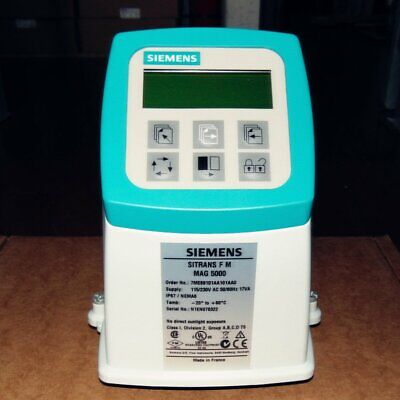 New In Box 1PC Siemens Mag 5000 Transmitter Sitrans 7ME6910-1AA10-1AA0