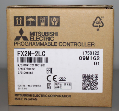 NEW 1PC IN BOX Mitsubishi Programmable Controller FX2N-2LC one year warranty