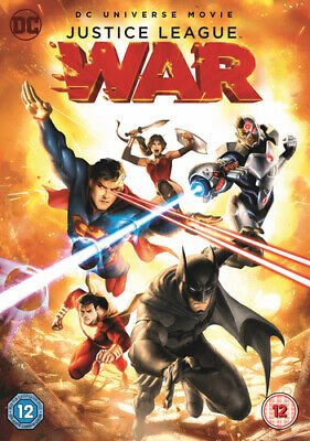 Justice League: War DVD (2018) Jay Oliva cert 12 ***NEW*** Fast and FREE P & P