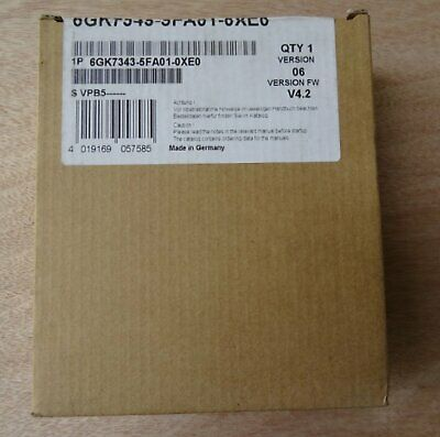 1PC New Siemens Communication processor 6GK7343-5FA01-0XE0 1 year warranty