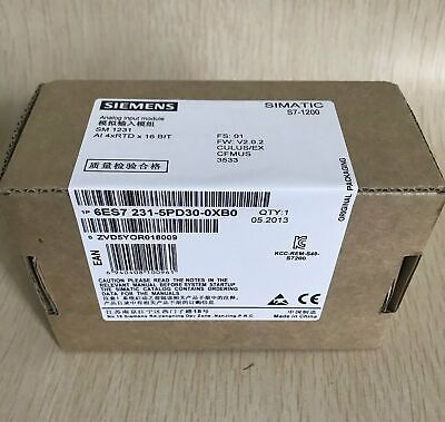 1PC NEW 6ES7231-5PD30-0XB0 Siemens PCL module IN BOX One year warranty