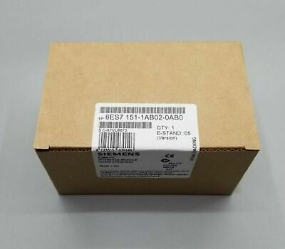 1PC NEW Siemens 6ES7151-1AB02-0AB0 PCL module IN BOX One year warranty
