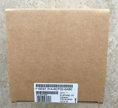 New In Box Siemens 6ES7314-6CF02-0AB0 6ES7 314-6CF02-0AB0 One year warranty