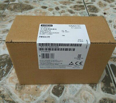 New In Box Siemens 6ES7214-2AD23-OXB8 6ES7 214-2AD23-OXB8 One year warranty