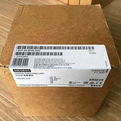 1PC NEW 6ES7314-6EH04-4AB2 Siemens expansion module in the box one year warranty