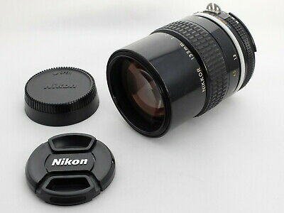 【Near Mint】Nikon Nikkor Ai 135mm f2.8 MF Fixed/Prime Telephoto Lens from Japan